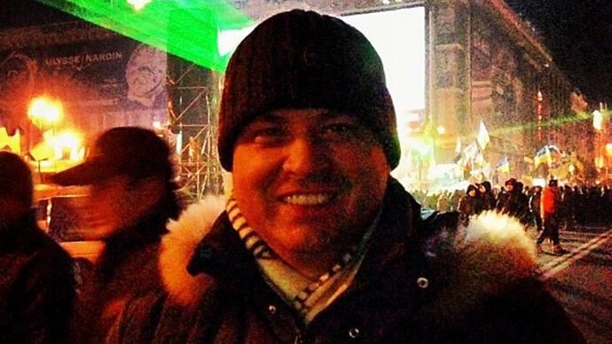 Латанский на ЕвроМайдане фото