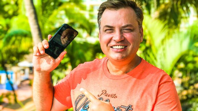 Возможности зеркальных фотоаппаратов теперь доступны в мобильном телефоне картинка