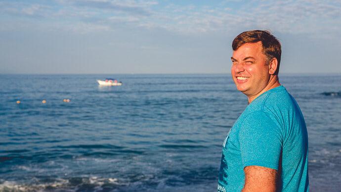 Наблюдение за океаном, наблюдение за дельфинами картинка